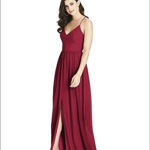 NWOT Dessy collection Spagetti strap dress 3019